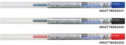 ไส้ปากกา Uni Style fit 0.7 JETSTREAM SXR-89-07