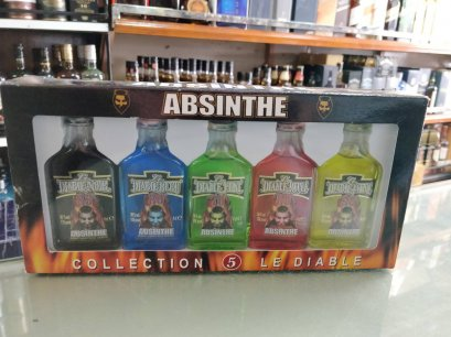 Absinthe Diable Set 20cl