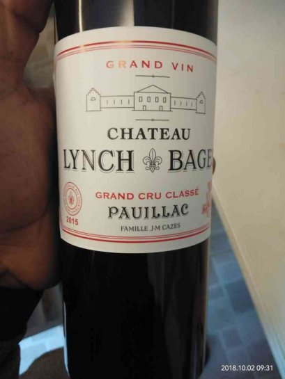 Chateau Lynch-Bages 2015 (96point)