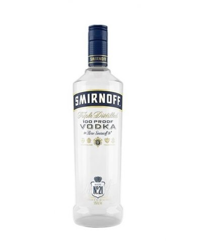 Smirnoff 100 Proof Vodka 750ml 50%