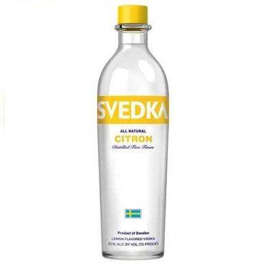 Svedka Citron Vodka- 750ml - 37%