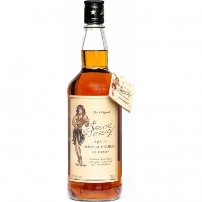 Sailor Jerry Spiced Navy Rum 1L