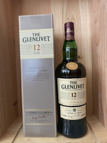 Glenlivet 12 Year Old (1Liter, 40%)