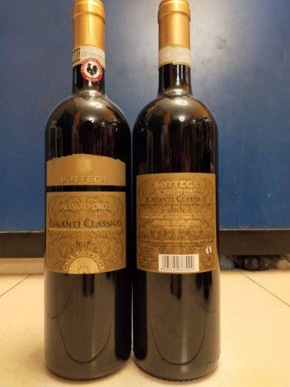 Bottega Chianti classico 2017