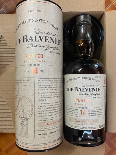 Balvenie 14Y Peated Triple cask 70cl