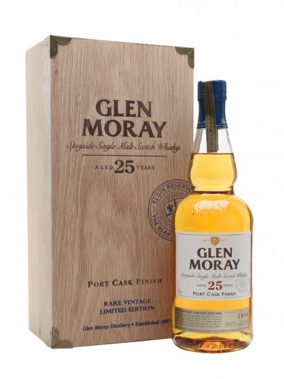 Glen Moray 25Y Port Cask Finish 70cl