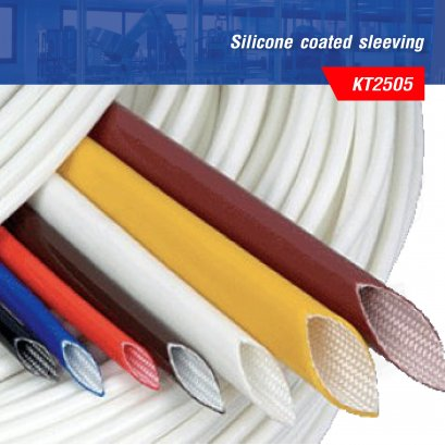 Silicone coated sleeving