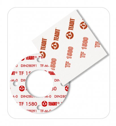STRUCTURED PTFE GASKET MATERIAL
