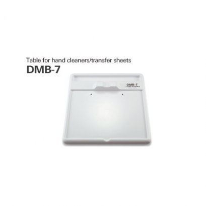 Table for hand cleaners/transfer sheets | DMB-7