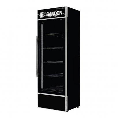 ตู้แช่เย็น 1 ประตู  Sanden รุ่น SEA-0405P 14.1Q(สีดำ)
