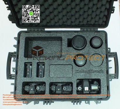 รับออกแบบและผลิตโฟมกับกระแทกสำหรับกล้องและอุปกรณ์ถ่ายรูปสำหรับช่างภาพมืออาชีพ