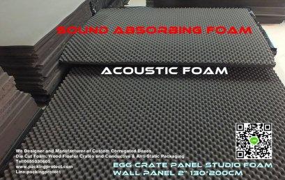 Studio foam Acoustic Foam Sound Absorption ฟองน้ำซับเสียงฟองน้ำรังไข่ แผ่นซับเสียงรังไข่ แผ่นซับเสียงรังไข่