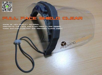 หน้ากาก Face Shield หน้ากากใสหน้ากากป้องกันละอองฝอยและสารคัดหลั่ง