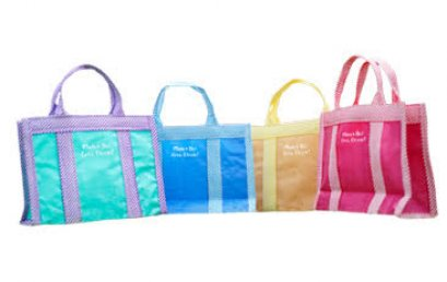 """Colorful bag """"MD goes green"""""""