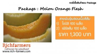 Package : Melon Orange Flesh