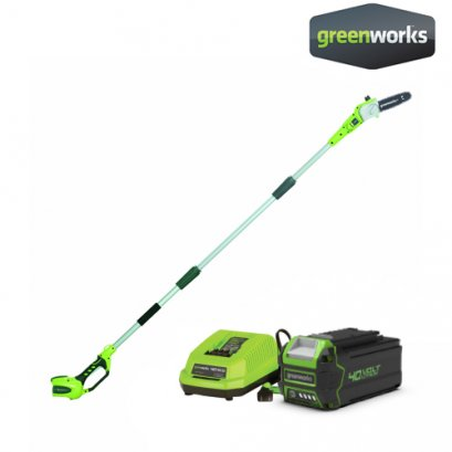 POLE SAW 40V INCLUDING BATTERY AND CHARGER