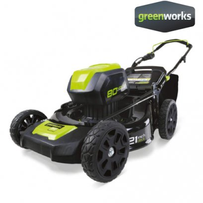 GREENWORKS 80V 21-Inch Cordless Brushless Lawn Mower Bare Tool