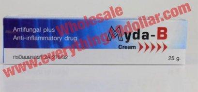 WOO3  WHOLESALE MYDA-B  ANTI-INFLAMMATORY ANTIFUNGAL CREAM (10+GET 2 TUBES FREE)