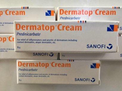 H402  ( 6 TUBES) Dermatop cream 5 g.