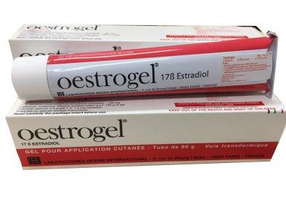 H242  ( 3 TUBES) Oestrogel 60 mg  Estradiol gel 80 g