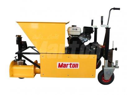 เครื่องทำขอบบาทวิถี + เครื่องยนต์marton 6.5 HP (เบนซิน)