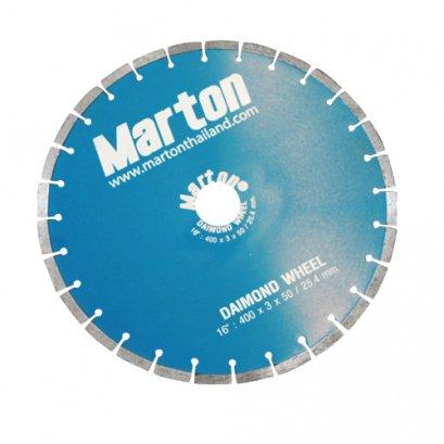 MARTON ใบตัดเพชร ขนาด 14 นิ้ว หนา 3 มม.(copy)