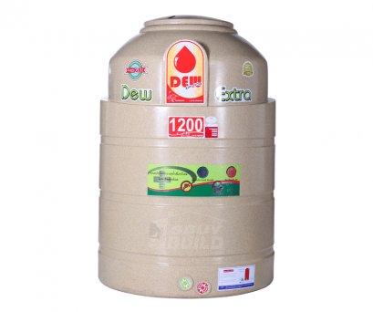 ถังเก็บน้ำ DEW EXTRA ปลอดตะไคร่ 1000/1200/1750/2200