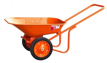 รถเข็นปูนMarton ล้อคู่ยางตัน (สีส้ม)