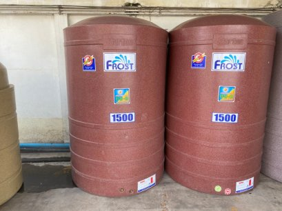 เกรดB - ถังน้ำ frost 1500 ลิตร ทรายแดง