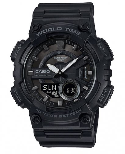 นาฬิกา Casio 10 Year Battery AEQ-110W-1B