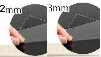 Shrink Plastic พลาสติกหด แบบใส โปรดเลือกความหนา 0.3 และ 0.2 mm