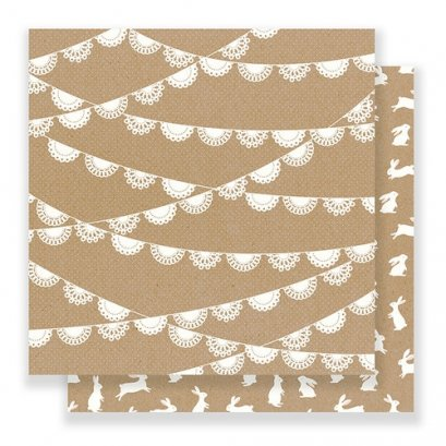 PEBBLES SPRING FLING PAPER: DOILY