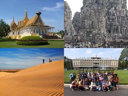 กัมพูชา เวียดนามใต้  6 วัน 5 คืน  ปอยเปต – พนมเปญ – โฮจิมินซิตี้ – มุยเน่ -  เสียมราฐ – นครวัด – นครธม – ปอยเปต