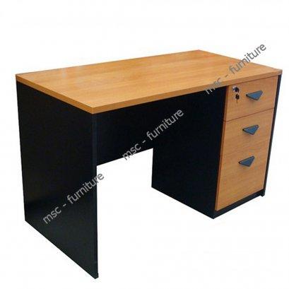 โต๊ะทำงาน3ลิ้นชัก TAST120D3