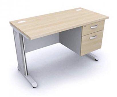 โต๊ะทำงาน 120 cm เมลามีนทั้งตัว