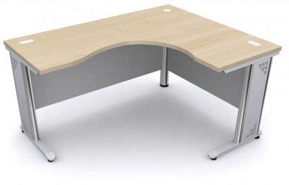 โต๊ะทำงานโล่ง เมลามีนทั้งตัว