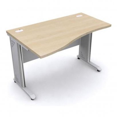 โต๊ะทำงานโล่ง120 cm เมลามีนทั้งตัว