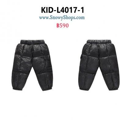 [พร้อมส่ง 80,90,100] [KID-L4017-1] กางเกงกันหนาวเด็กเล็กใส่เล่นหิมะสีดำ ผ้ากันหนาวกันหนาวอย่างดี ใส่ได้ทั้งเด็กชายและเด็กหญิง