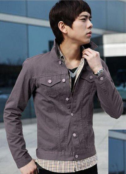 [[พร้อมส่ง M]] [Tp-047] Tp++เสื้อกันหนาว++เสื้อกันหนาวสีเทา