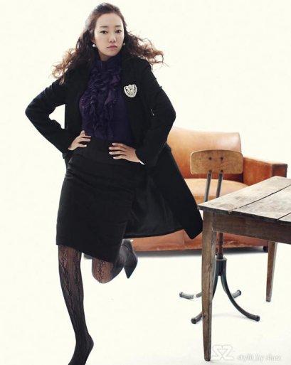 [[พร้อมส่ง]] [SZ-013] SZ++เสื้อ++ผ้าซีฟองอย่างดี สีม่วง แขนยาว คอและแขนตกแต่งด้วยผ้าระย้าๆ เลิศมาก