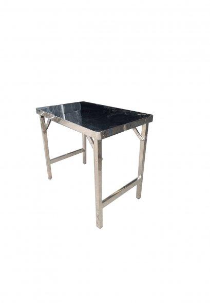 โต๊ะสแตนเลสขาพับ