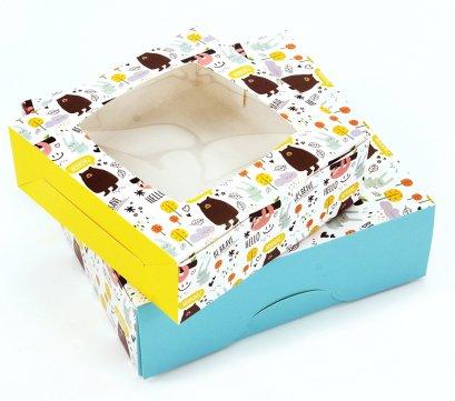 กล่องเบเกอรี่ BB01 ลาย Jungle