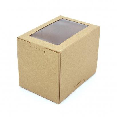 กล่องเค้ก/คัพเค้ก 1 ชิ้น KB40