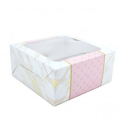 กล่องเค้กทรงมาตรฐาน 1 ปอนด์ Florence
