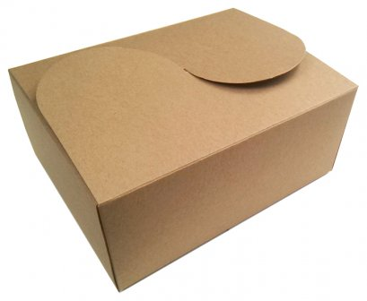 กล่องเบเกอรี่คราฟท์ KB01