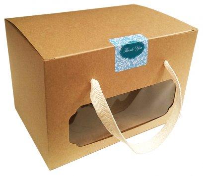 กล่องเบเกอรี่ คราฟท์ KB05