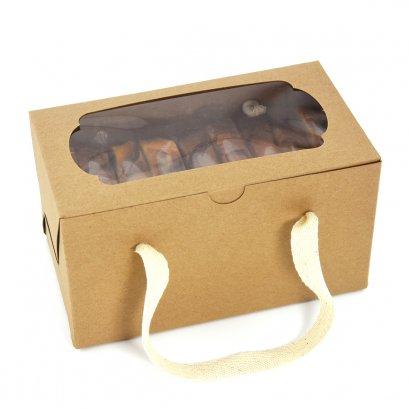 KB07 กล่องคุกกี้ / คัพเค้ก 2 ช่อง