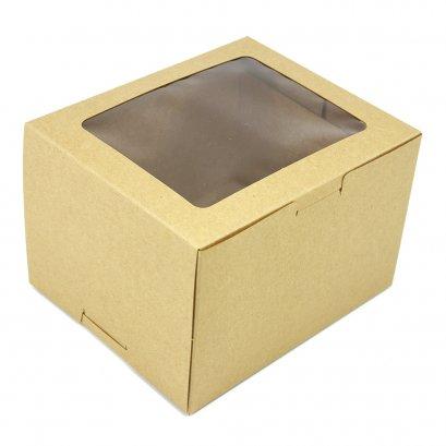 กล่องเค้ก/คัพเค้ก 2 ชิ้น  KB41