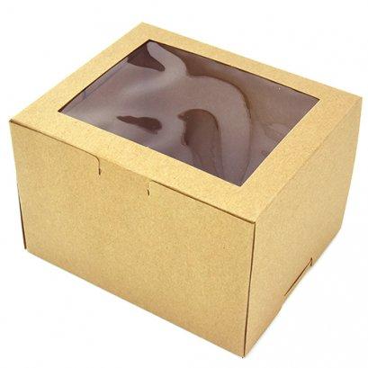 กล่องเค้ก 2 ชิ้น KB41