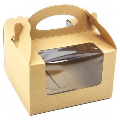 กล่องเค้กครึ่งปอนด์ / คัพเค้ก KB43